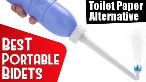 best portable bidets – toilet paper alternatives