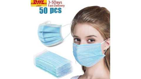 medical face masks 3 layer