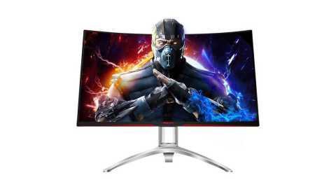 aoc ag322fcx1 game e-sports monitor 31.5 inch