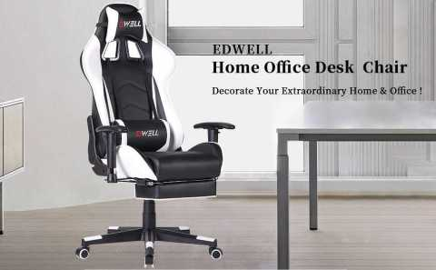 EDWELL Home Office Desk Gaming Chair - EDWELL Home Office Desk Gaming Chair Amazon Coupon Promo Code