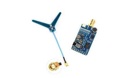 MATEK Systems VTX 1G3 9 - MATEK Systems VTX-1G3-9 FPV Video Transmitter Banggood Coupon Promo Code [USA warehouse]