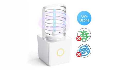 ZW03 Portable UV Ozone Germicidal Lamp - Loskii ZW03 Portable UV Ozone Germicidal Lamp Banggood Coupon Code [USA Warehouse]