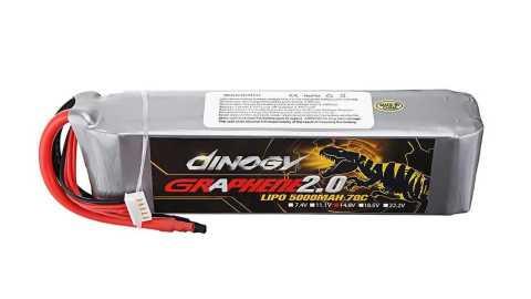 DINOGY GRAPHENE 2 0 - DINOGY GRAPHENE 2.0 14.8V 5000mAh 70C 4S Lipo Battery Banggood Coupon Promo Code