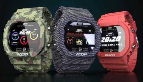 OCEAN Heart Rate Smart Watch - OCEAN Heart Rate Smart Wacth Gearbest Coupon Promo Code
