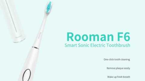 Rooman F6 - Rooman F6 Smart Sonic Electric Toothbrush Gearbest Coupon Promo Code