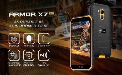 Ulefone Armor X7 Pro - Ulefone Armor X7 Pro Banggood Coupon Promo Code [4+32GB] [Spain Warehouse]