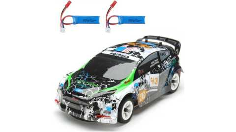 Wltoys K989 - Wltoys K989 1/28 RC Rally Car Banggood Coupon Promo Code [Two Batteries]
