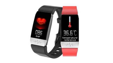 Bakeey T1 - Bakeey T1 Thermometer Smart Watch Banggood Coupon Promo Code