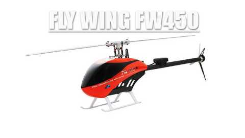 FLY WING FW450 - FLY WING FW450 RC Helicopter Banggood Coupon Promo Code [BNF]