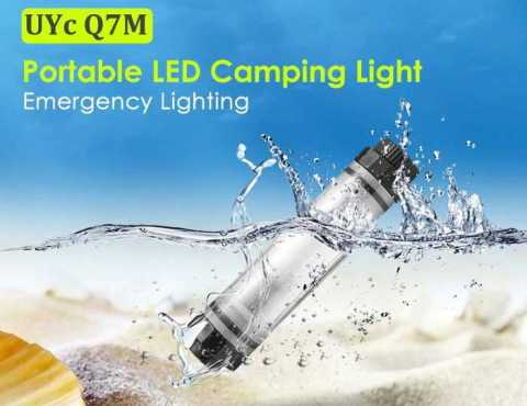 Uyc Q7M - Uyc Q7M Rechargeable LED Camping Light Gearbest Coupon Promo Code