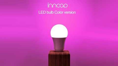 Xiaomi inncap Smart LED Bulb - Xiaomi Inncap Smart LED Bulb Colorful 10W Banggood Coupon Promo Code [3 Pcs]