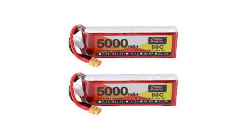 2Pcs ZOP Power 111V 5000mAh - ZOP Power 11.1V 5000mAh 60C 3S Lipo Battery Banggood Coupon Promo Code [2Pcs]