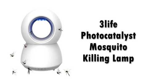 3life Photocatalyst Mosquito Killing Lamp - Xiaomi 3life Photocatalyst Mosquito Killing Lamp Banggood Coupon Promo Code