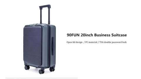 90FUN 20inch Business Suitcase - Xiaomi 90FUN 20inch Business Suitcase Banggood Coupon Promo Code [USA Warehouse]