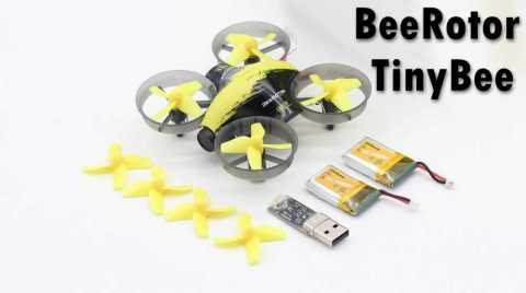 BeeRotor TinyBee - BeeRotor TinyBee Micro FPV Coreless RC Drone Banggood Coupon Promo Code [2 Batteries]