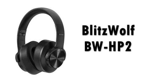 BlitzWolf BW HP2 - BlitzWolf BW-HP2 bluetooth V5.0 Over-Ear Headphone Banggood Coupon Promo Code