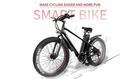 CMACEWHEEL KS26 - CMACEWHEEL KS26 Electric Bike Banggood Coupon Promo Code [Czech Warehouse]