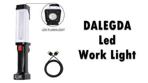 DALEGDA Magnetic Led Work Light - DALEGDA Led Work Light Amazon Coupon Promo Code