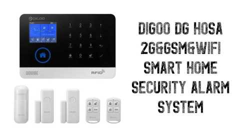 Digoo DG HOSA - Digoo DG HOSA Smart Home Security Alarm System Banggood Coupon Promo Code