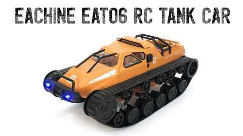 Eachine EAT06 - Eachine EAT06 1/12 Drift RC Tank Car Banggood Coupon Promo Code [Czech Warehouse]