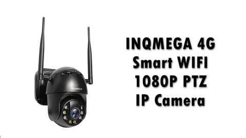 INQMEGA 4G camera - INQMEGA 4G Smart WIFI 1080P PTZ IP Camera Banggood Coupon promo code