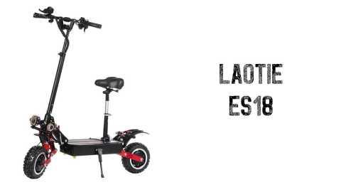 LAOTIE ES18 - LAOTIE ES18 Foldable Electric Scooter With Saddle Banggood Coupon Promo Code