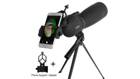 LUXUN 25 75X70 - LUXUN 25-75X70 HD Waterproof BAK4 Telescope Banggood Coupon Promo Code
