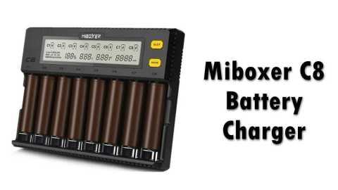 Miboxer C8 Battery Charger - Miboxer C8 Battery Charger Banggood Coupon Promo Code