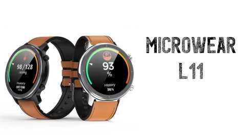 Microwear L11 - Microwear L11 Smart Watch Banggood Coupon Promo Code