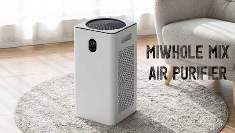 Miwhole MIX Air purifier - Miwhole MIX Air Purifier Gearbest Coupon Promo Code