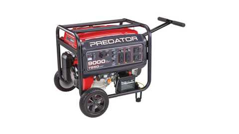 PREDATOR generator 9000w - Predator 9000W Gas Powered Generator Harbor Freight Coupon Promo Code