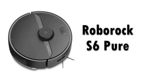 Roborock S6 Pure - Roborock S6 Pure Robot Vacuum Cleaner Banggood Coupon Promo Code [Czech Warehouse]