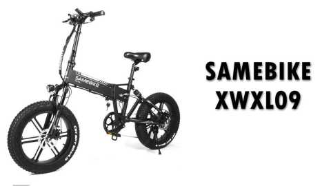 SAMEBIKE XWXL09 - SAMEBIKE XWXL09 Smart Folding E-bike Gearbest Coupon Promo Code [Poland Warehouse]