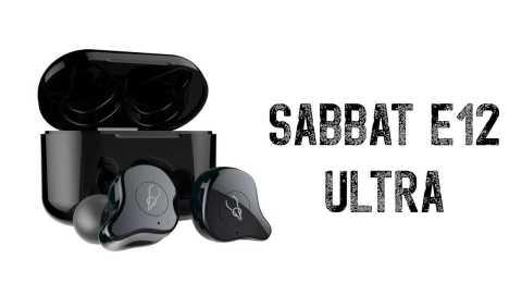 Sabbat E12 Ultra - Sabbat E12 Ultra TWS Earbuds Geekbuying Coupon Promo Code [Germany Warehouse]