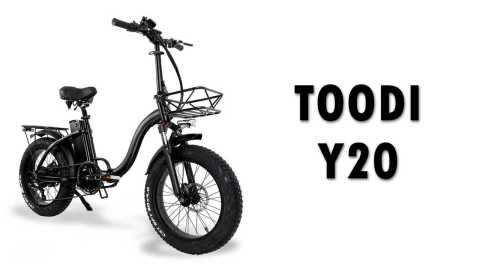 TOODI Y20 - TOODI Y20 Electric Bike Banggood Coupon Promo Code [UK Warehouse]