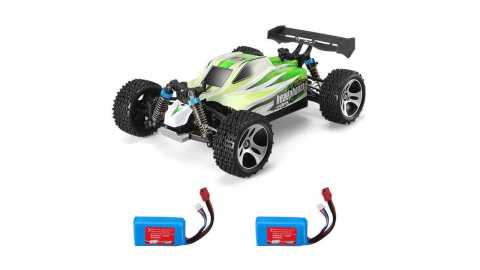 WLtoys A959 B two batteries - WLtoys A959-B 1/18 4WD Buggy Off Road RC Car Banggood Coupon Promo Code [2 Batteries]