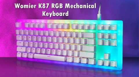 Womier K87 - Womier K87 RGB Mechanical Keyboard Banggood Coupon Promo Code