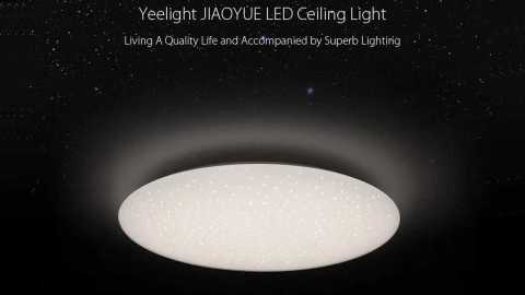 Yeelight JIAOYUE YLXD04YL 450 - Yeelight JIAOYUE YLXD04YL 450 LED Ceiling Light Banggood Coupon Promo Code