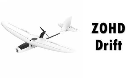 ZOHD Drift - ZOHD Drift FPV Glider RC Airplane Banggood Coupon Code [PNP] [Czech Warehouse]