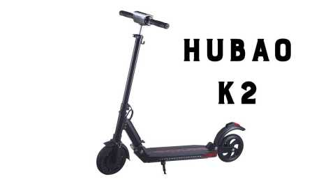 hubao k2 - Hubao K2 Folding Electric Scooter Banggood Coupon Promo Code