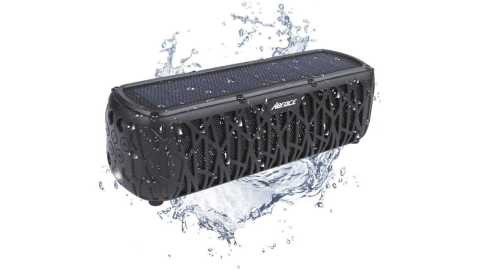 ABFOCE ES T61 Solar Bluetooth Speaker - ABFOCE ES-T61 Solar Bluetooth Speaker Amazon Coupon Promo Code
