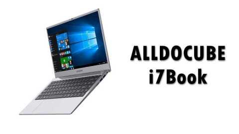 ALLDOCUBE 7Book - ALLDOCUBE i7Book Notebook Banggood Coupon Promo Code [i7-6660U 8+256GB SSD]