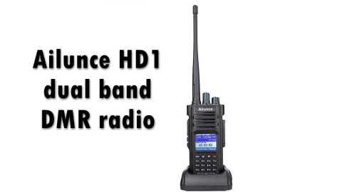 Ailunce HD1 - Ailunce HD1 dual band DMR Radio Amazon Coupon Promo Code