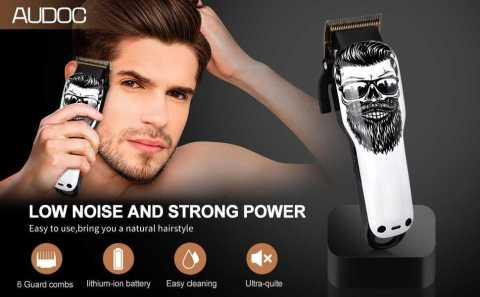 Audoc Upgraded Cordless Electric Hair Clippers - Audoc Upgraded Cordless Electric Hair Clippers Amazon Coupon Promo Code