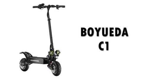 BOYUEDA C1 - BOYUEDA C1 Folding Electric Scooter Banggood Coupon Promo Code