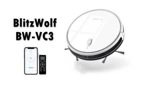 BlitzWolf BW VC3 - BlitzWolf BW-VC3 Robot Vacuum Banggood Coupon Promo Code