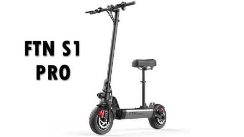 FTN S1 PRO - FTN S1 PRO Folding Electric Scooter Banggood Coupon Promo Code [12AH]