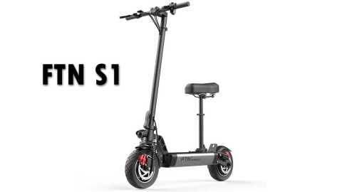 FTN S1 - FTN S1 Folding Electric Scooter Banggood Coupon Promo Code [8AH]