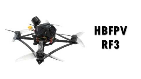 HBFPV RF3 - HBFPV RF3 2-3S Toothpick FreeStyle FPV Racing Drone Banggood Coupon Promo Code
