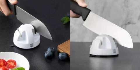 HUOHOU Double Wheel Knife Sharpener - HUOHOU Mini Double-Wheel Knife Sharpener Banggood Coupon Promo Code